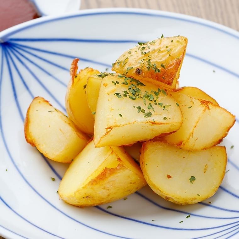 炸土豆没有农药土豆