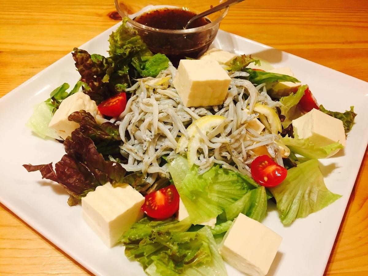 Shuru豆腐沙拉