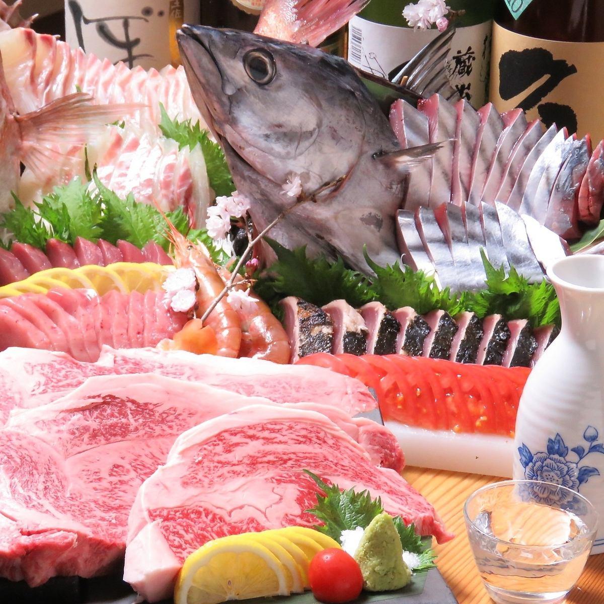 【個室確約!】和の庭園風の店内。完全個室で一人一皿ずつ提供される会席料理。