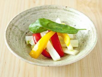 彩り野菜のピクルス