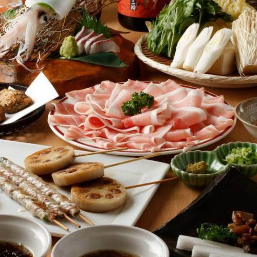 【Random Skewers & Pickled Nabe Course】 All 5 items 3000 yen (excluding tax) ~