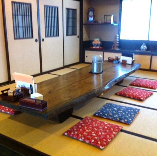 Small rising of tatami