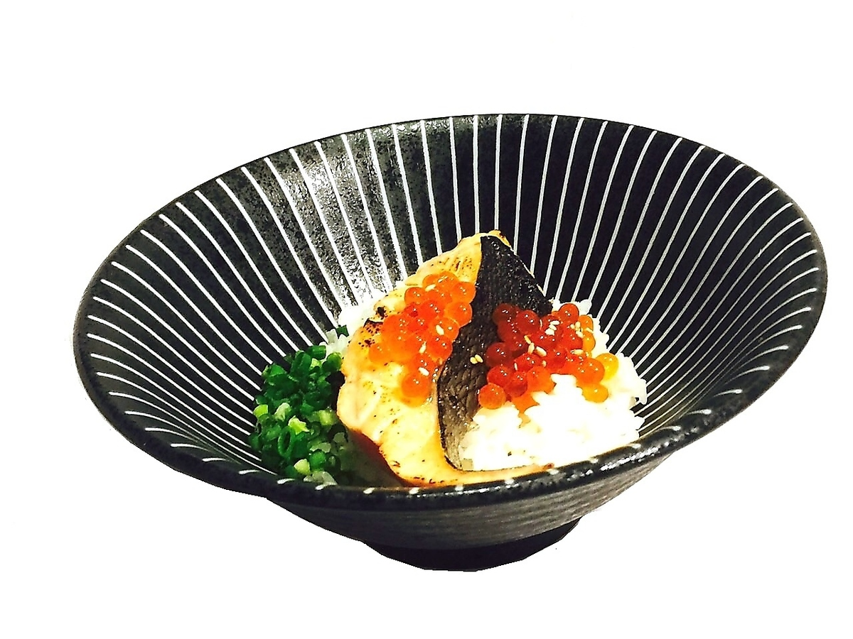 Masuzuki salmon with thick sliced salmon ~ Pickled rice with soup ~
