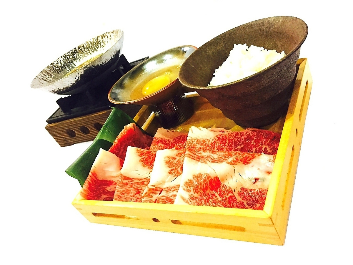 Wagyu beef pot with rice