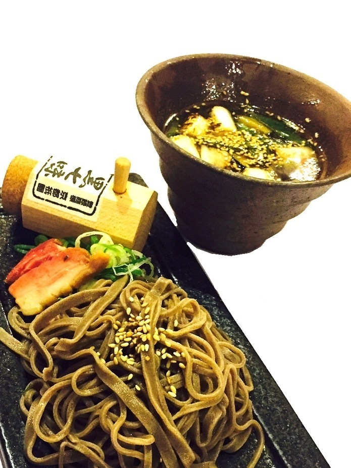 Duck duck with soba