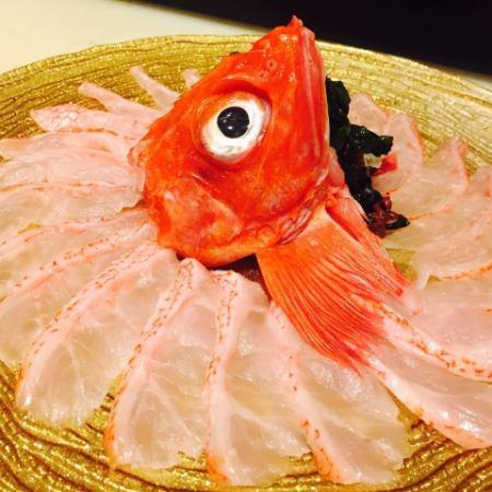 6500日元7道菜新仓木涮锅套餐90分钟与所有你可以喝