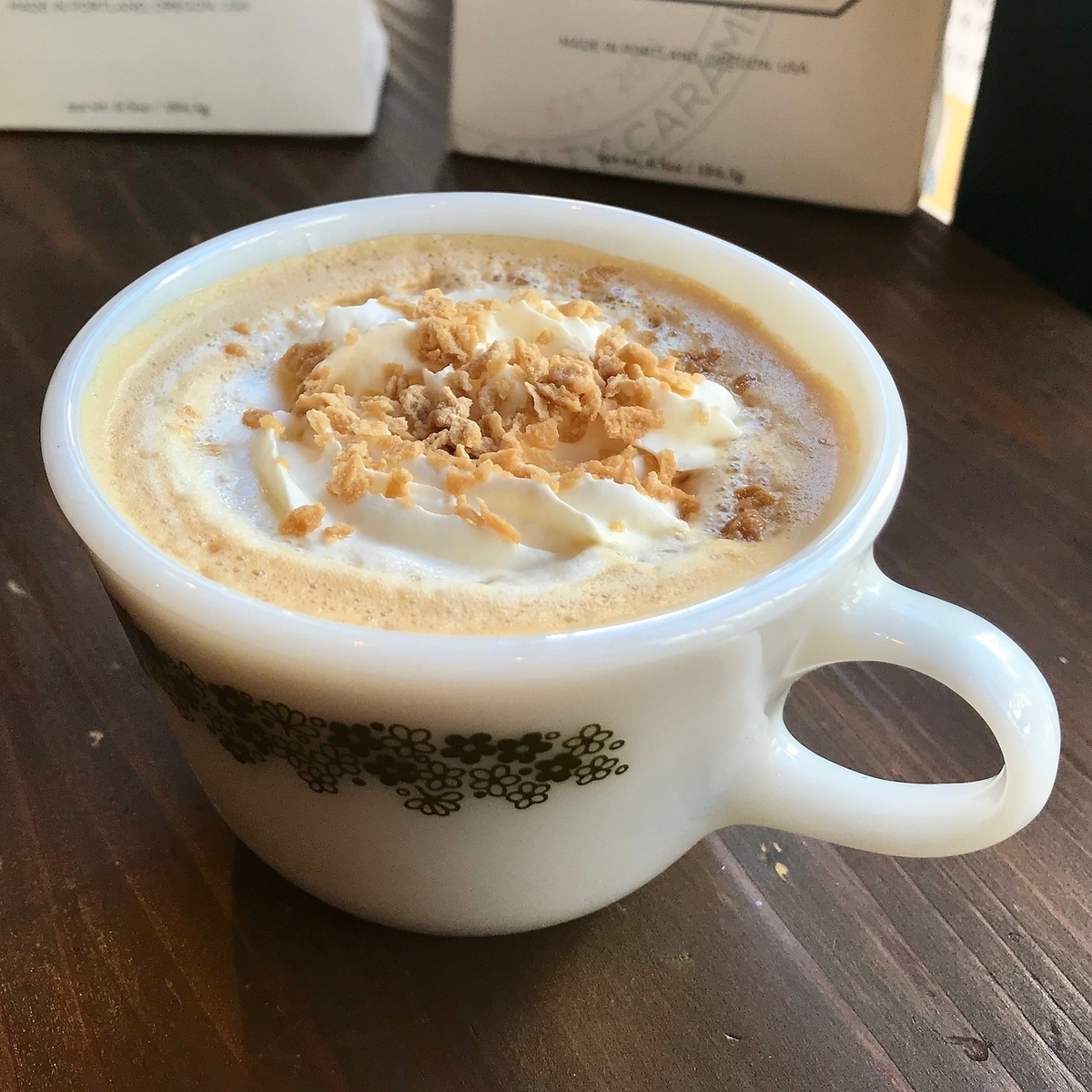 Winter Ginger Maple Latte