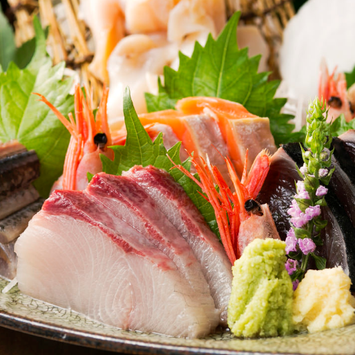 Sashimi with fresh fish!