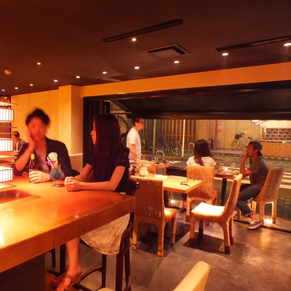 【1F in-store scenery 1】 Cha also enjoy the BBQ plan.For 2 people ~ OK!