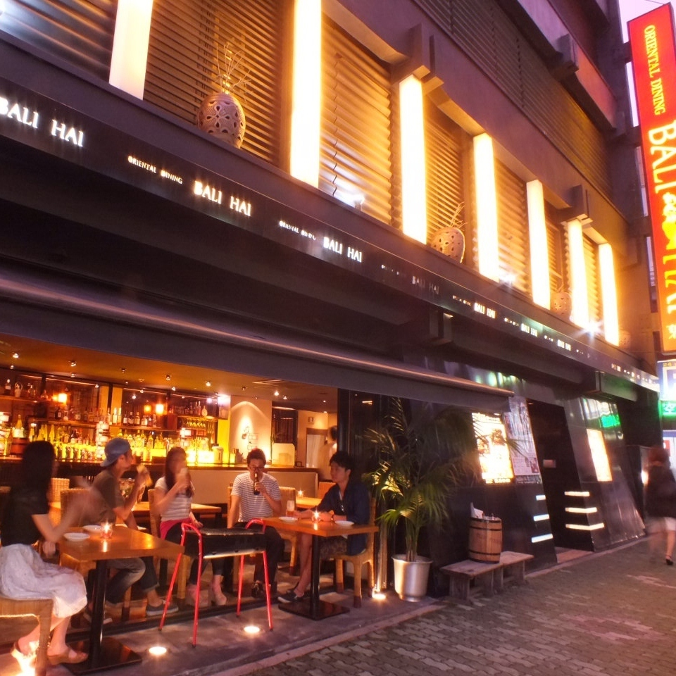 【1F Open Terrace Scenery 3】 I enjoy BBQ plan even here.For 4 people ~ OK!