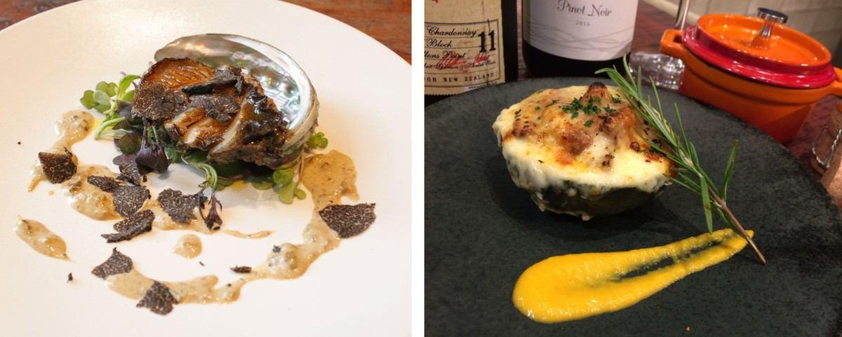 Grilled fish and Michelin bib gorman seasonal cuisine where 1st winning chef wields arm