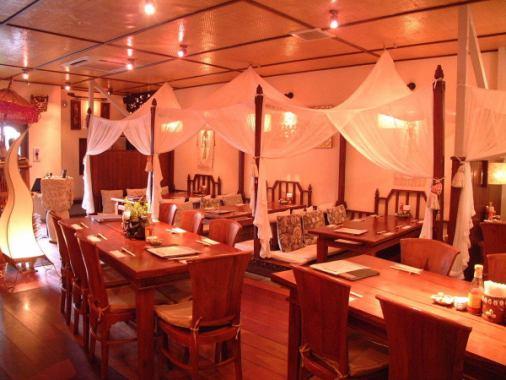 """而客厅""""凉亭""""在巴厘岛,比如因为它是可容纳50人的桌席,请在即使在大量的人使用这种好♪宴会!"""