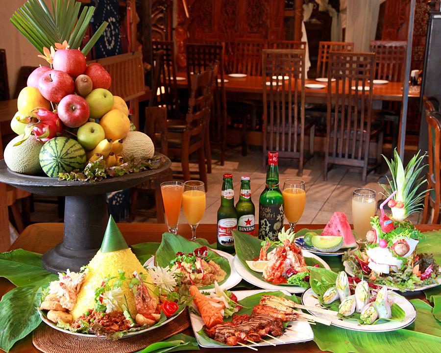 Authentic Balinese cuisine ♪