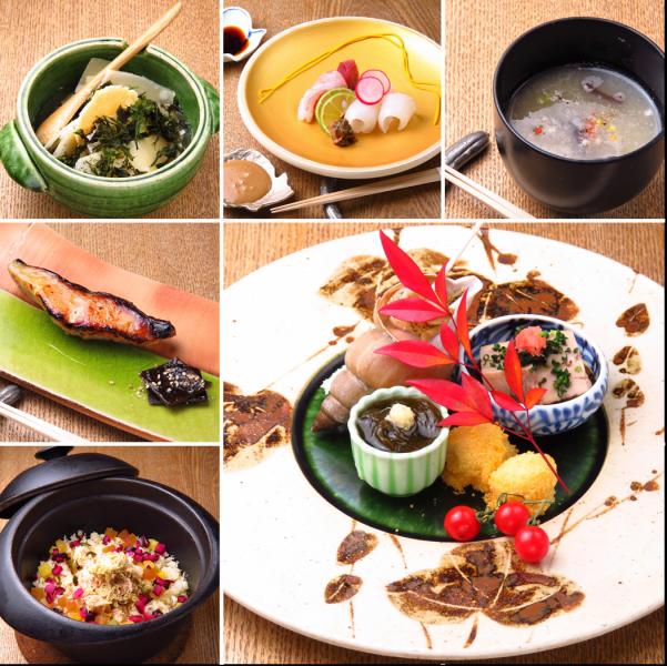 厳選された食材と卓越したアイデアと技量で一皿に表現するアラカルトも、ふるけんで味わえる楽しみです。