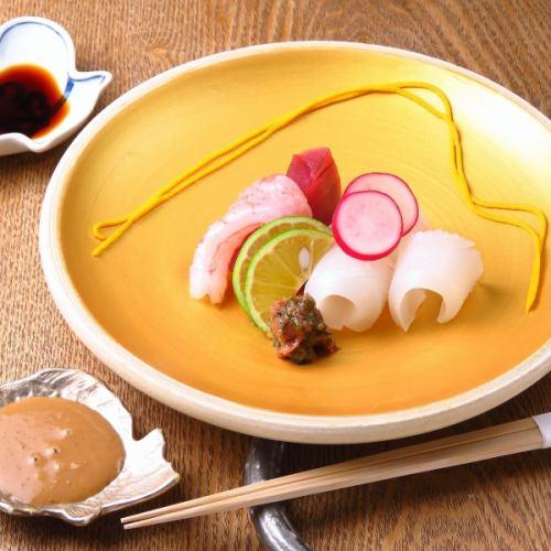 什锦生鱼片