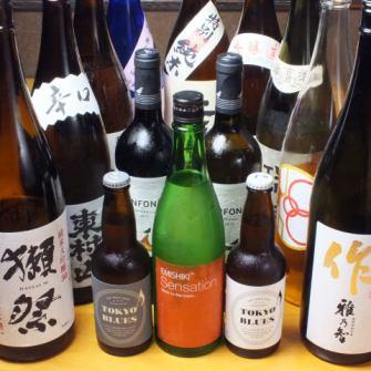 清酒和啤酒,包括水獭节也增强了!