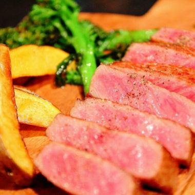 近江牛ランプ肉ステーキコース