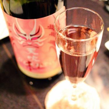 お肉と日本酒コース