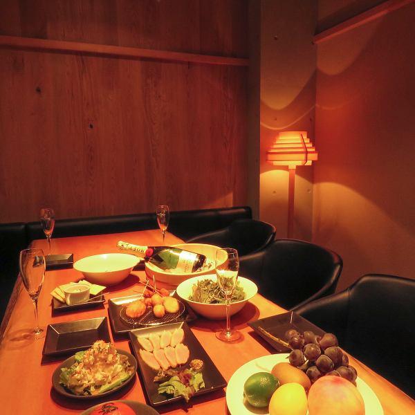 ◆完全個室2部屋限定◎人気のコースメニューは2500円~◆