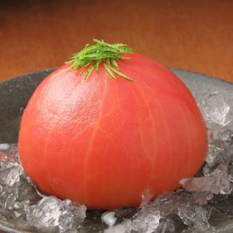 丸ごとトマトのゆず漬け