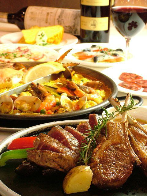 Recommended for the girls' party ☆ Reasonable Spanish cuisine ♪