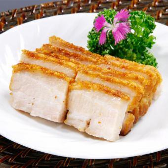 홍콩 구이 돼지 고기