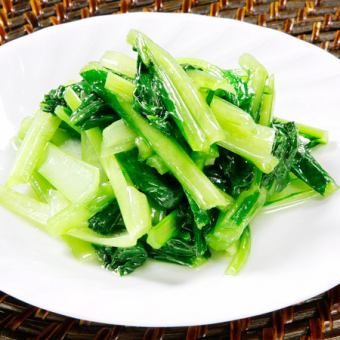 季節野菜の炒め