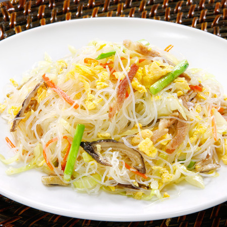 Grilled rice noodle