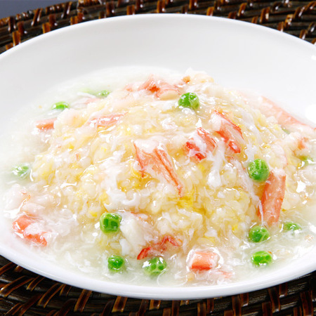 Seafood squid fried rice