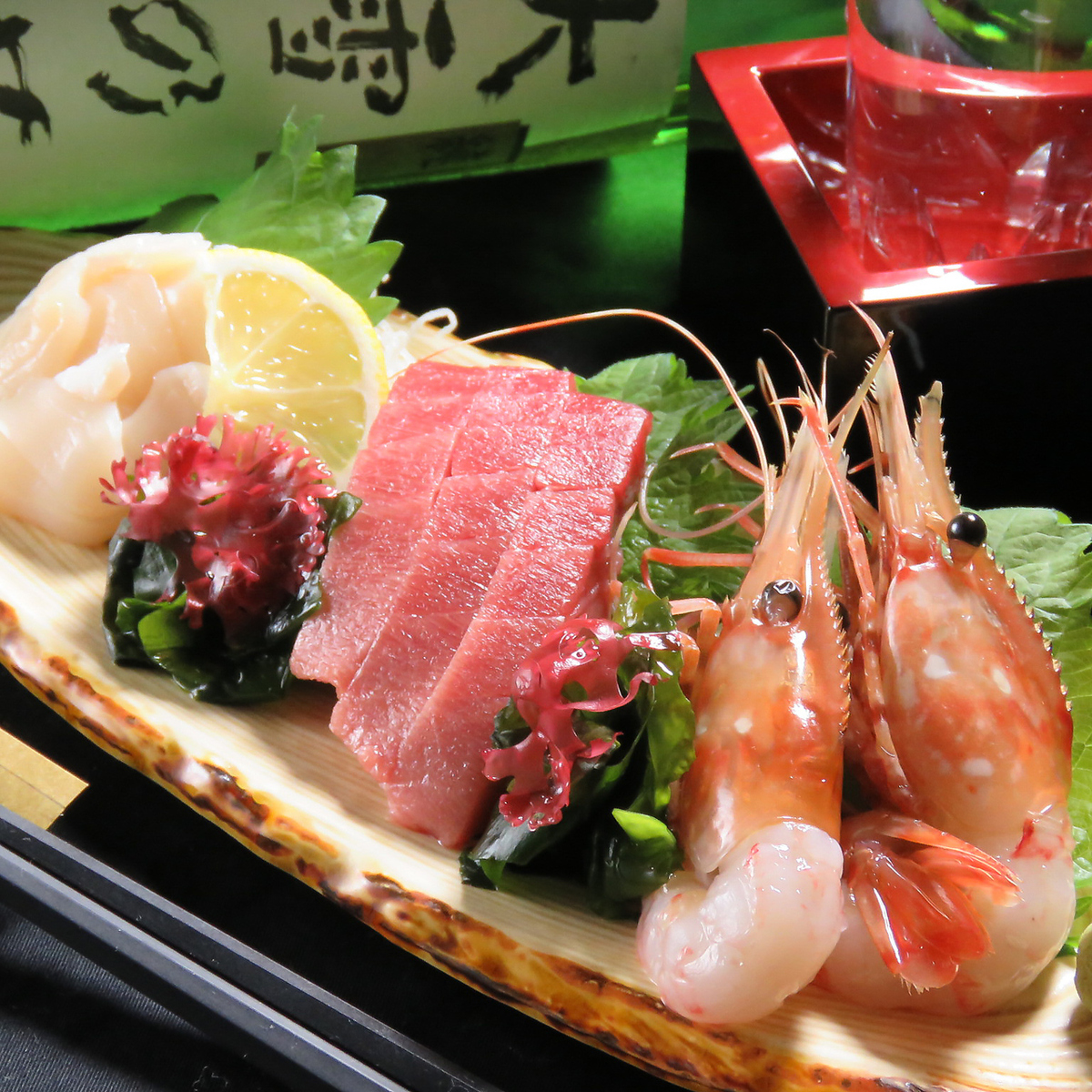 Fluent in the fresh seafood ♪