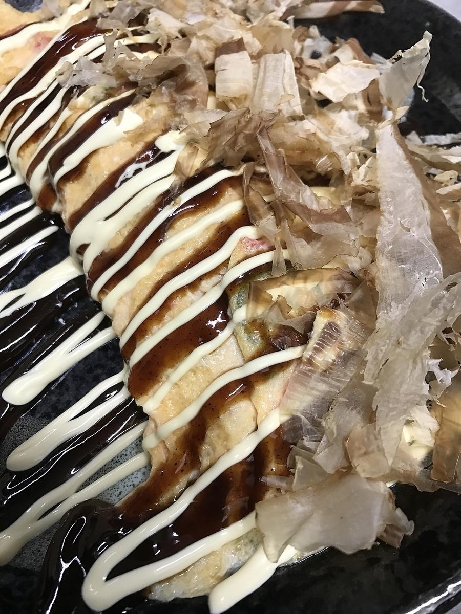 Okonomiyaki Style Egg Grill