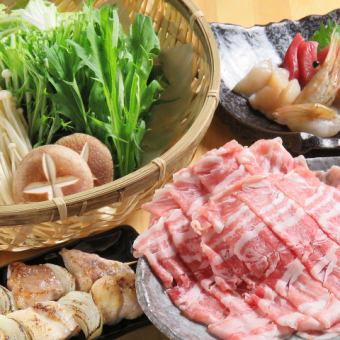 【Repen kamui season's pot】 Nabe course which can be selected from 4 kinds of pots 2 hours without drinks All you can drink 4,000 yen with draft beer !!