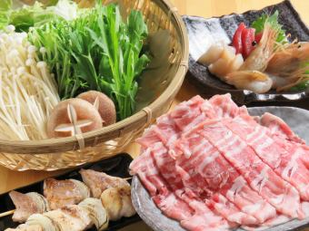 【Repen kamui season's pot】 Nabe course which can be selected from 4 kinds of pots 2 hours of drinking all you can drink 4000 yen with draft beer !!