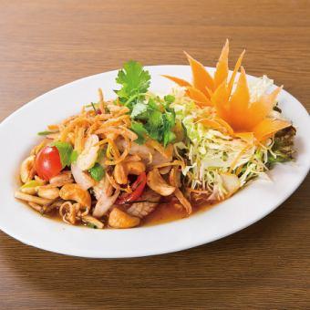 Asian tea salad
