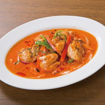 干红咖喱(鸡肉或猪肉)