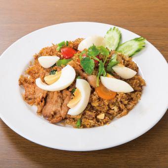 Spicy Mutton Biriyani / Spicy Shrimp: Biriyani