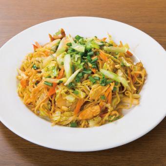 Tibetan style yakisoba / typhoon fried noodles