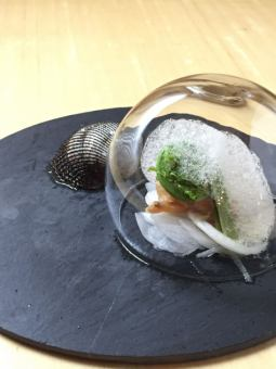 【Akagaki wakame roasted roasted bubble】