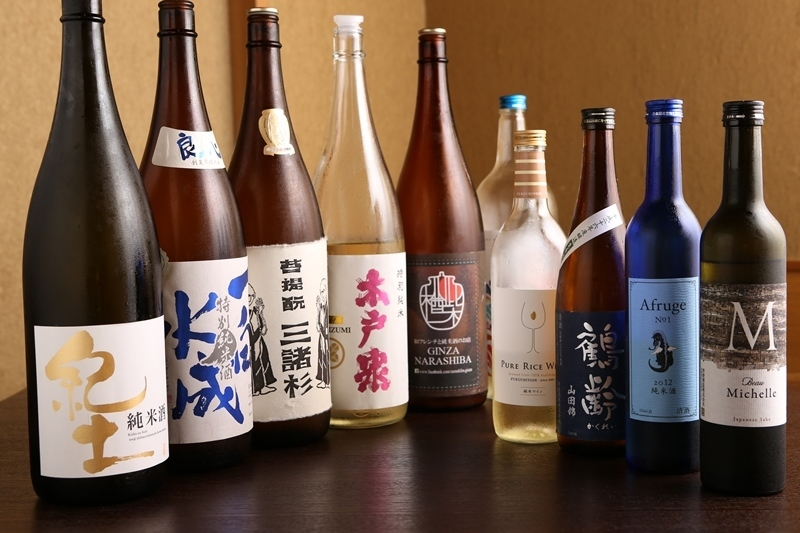 Food pairing with selected rice rice wine nationwide