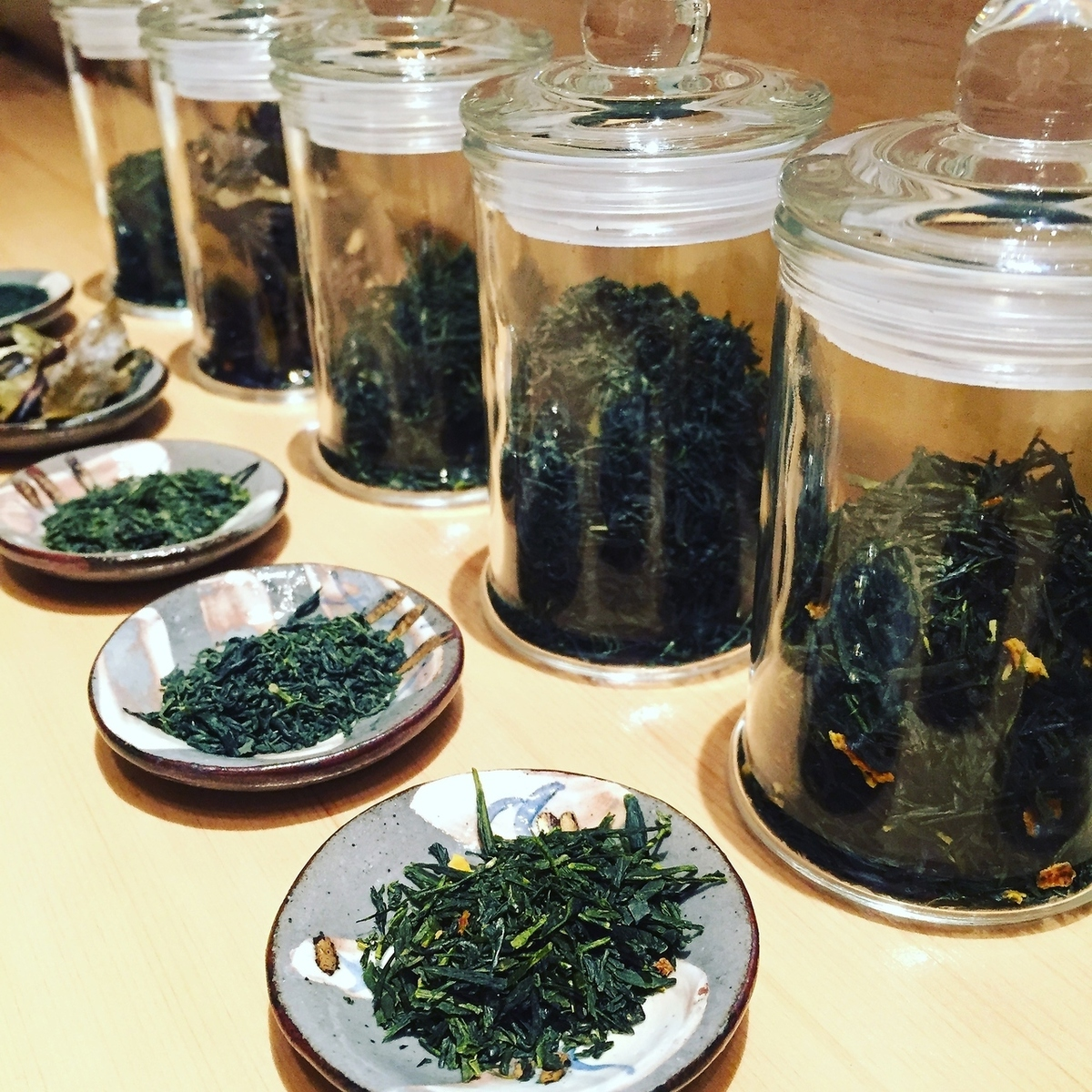 Sencha, Grandcha, Hojicha, Tea, Various teas available