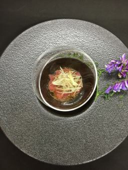 【Prawn prawns in Shaoxing sake pickled vinegar】