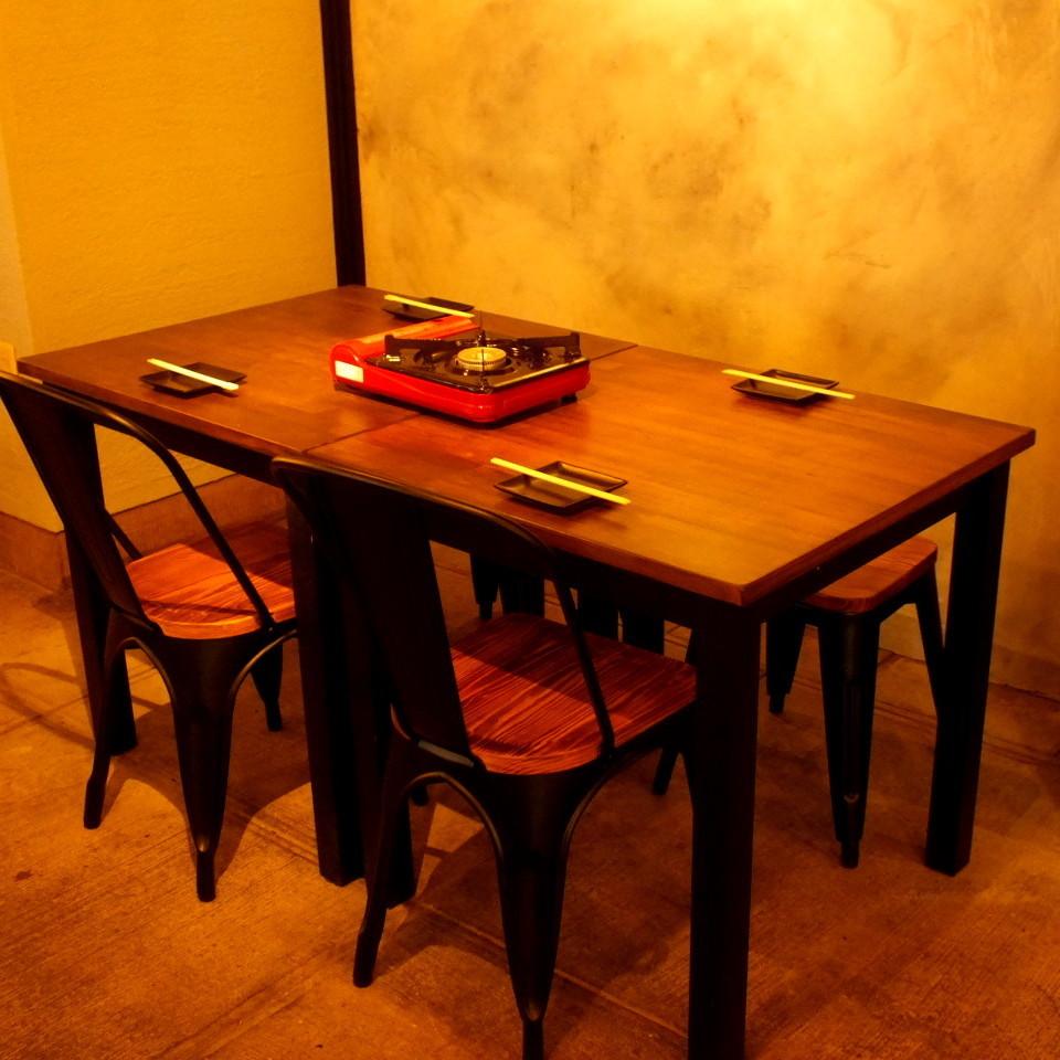 木紋桌非常適合女孩的協會和約會!