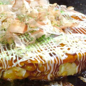 [90 minutes] okonomiyaki, Monja all 45 types of all-you-can-eat 1550 yen (tax included)