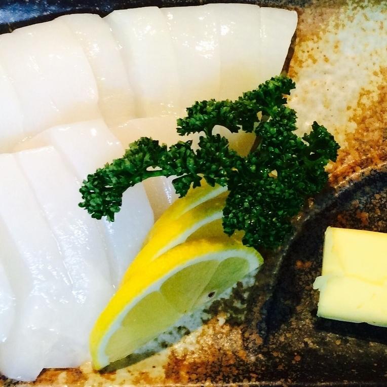 イカのバター焼き