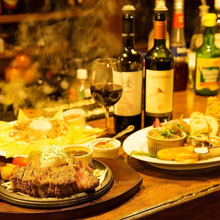10 minutes walk from Shimo Akatsuka station ★ Also attentive tapas and exciting steak! Bistro cooking shop ♪ every day can pass