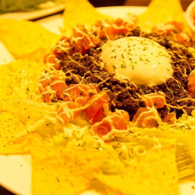 ■溫暖的竹子炸薯條和太陽的羅勒西紅柿