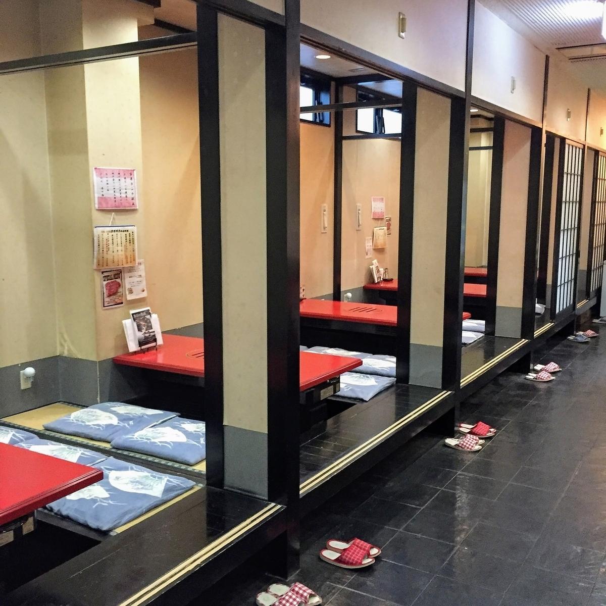 【1階/小和室/半個室】ゆったりできる小和室です。普段使いでお食事をお楽しみ頂く際に。
