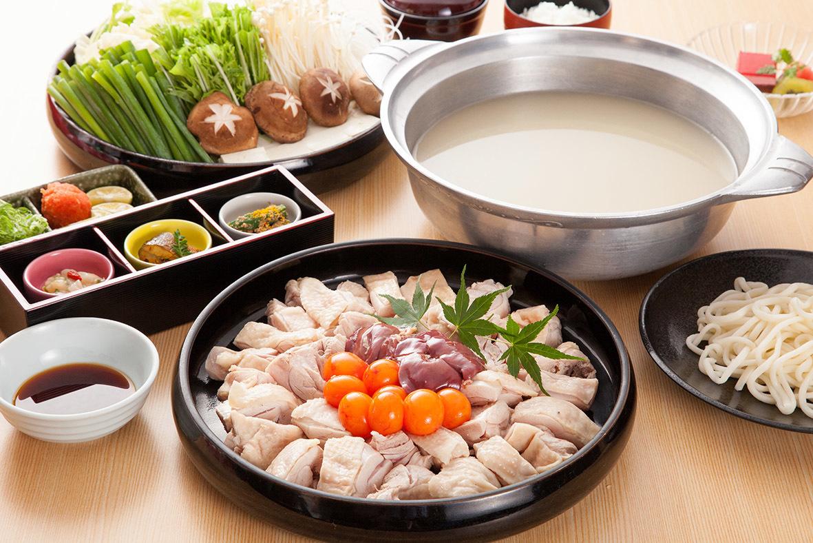 【名物】若鶏ちり鍋