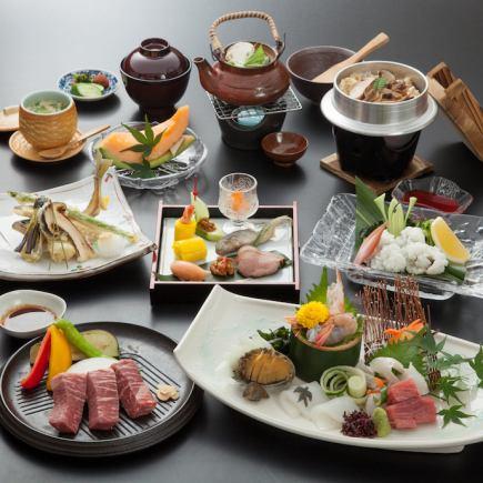 This cuisine Tsurugame course 15000 yen