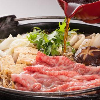 特產·和牛牛肉壽喜燒6產品<竹子5500日元>